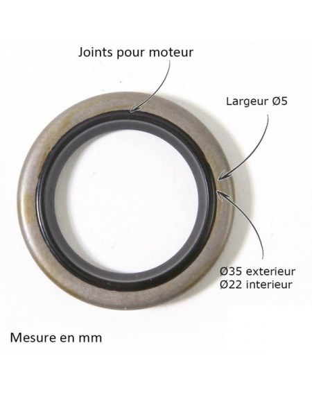 Joint spi pour B&S 299819-89660
