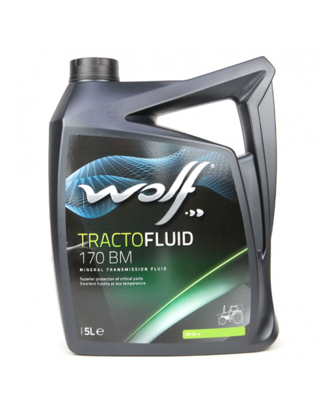 Huile agricole Wolf Tractofluid 170 BM 5L