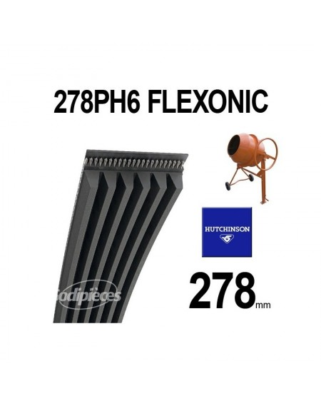 Poly-V Elastique FLEXONIC 278PH6