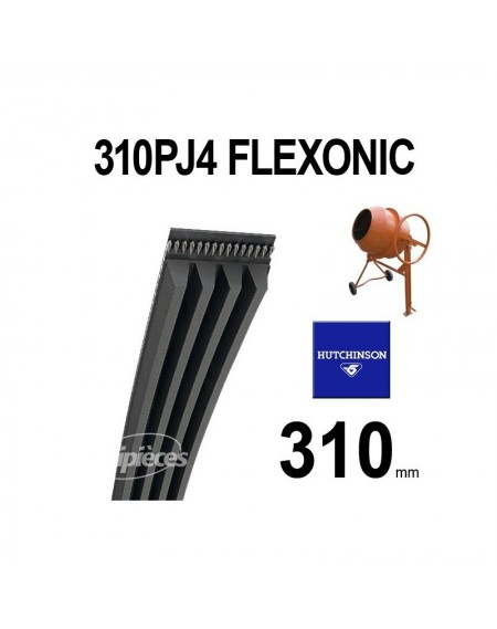 Poly-V Elastique FLEXONIC 310PJ4 Hutchinson