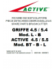 SUPPORT FILTRE A AIR DEBROUSSAILLEUSE ACTIVE